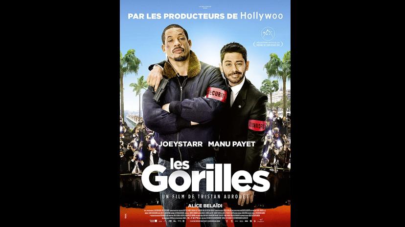LES GORILLES - JOEYSTARR - Michael Mercier acteur, actor, comédien, film, cinéma, théatre