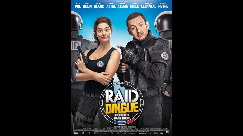 RAID DINGUE DANYBOON Michael Mercier acteur, actor, comédien, film, cinéma, théatre